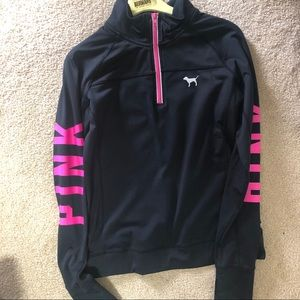 PINK VICTORIA SECRET ATHLETIC JACKET
